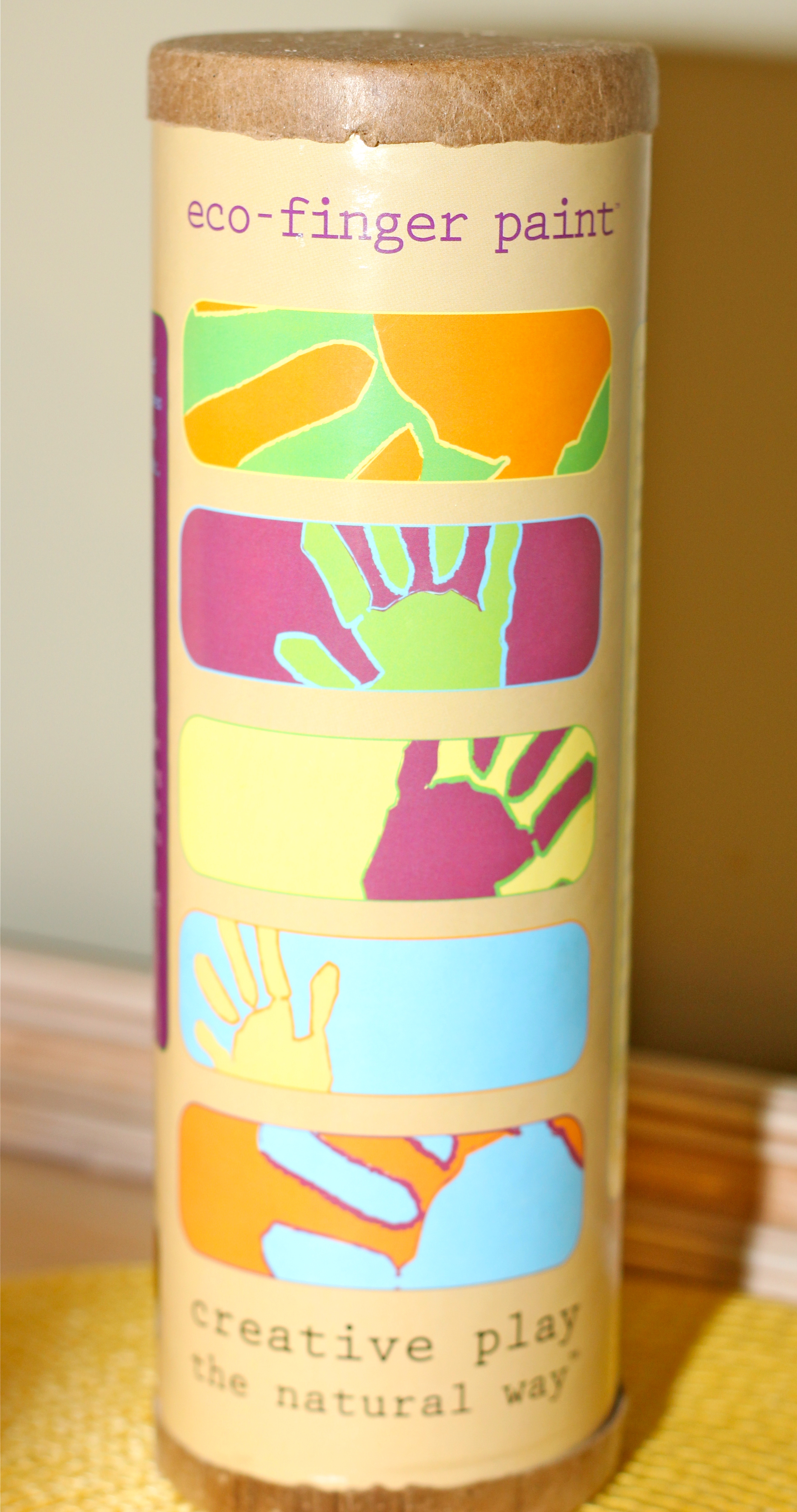 Creative creations using safe and eco friendly paints for Ecos organic paints