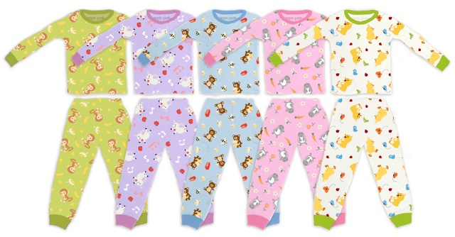 Apple Park's bunny and chick organic pajamas are perfect for Easter!