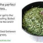 Lead in Green Tea; Know Where Yours Comes From