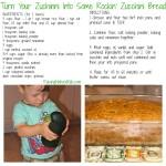 Garden Zucchini Bread ~ A Healthier Twist
