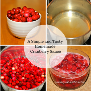 Ditch the Can This Year – Homemade Cranberry Sauce