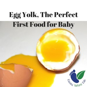 Egg Yolk, The Perfect First Food for Baby