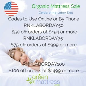 Labor Day Organic Mattress Sale