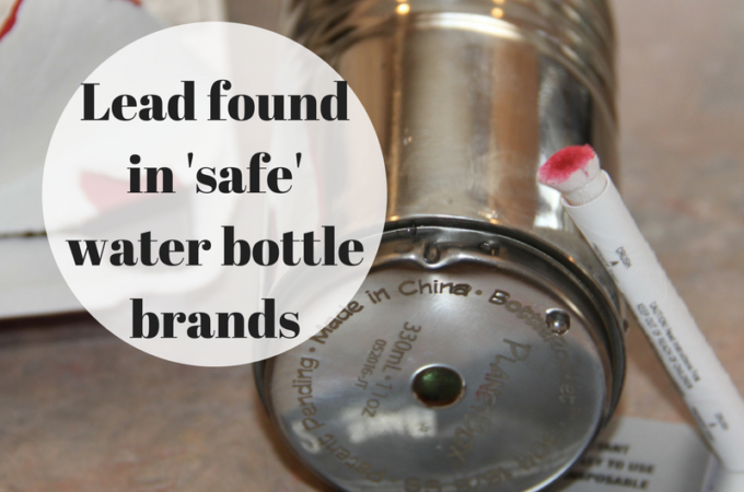 Lead In Stainless Steel Water Bottles