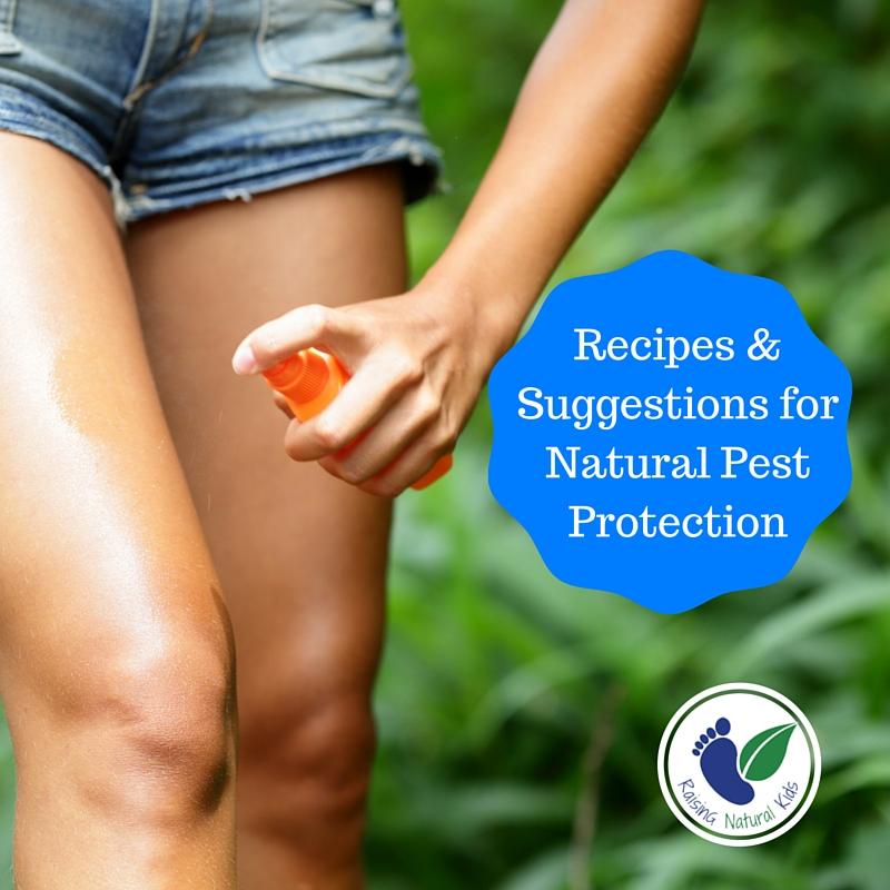 Natural Bug Repellent - Raising Natural Kids