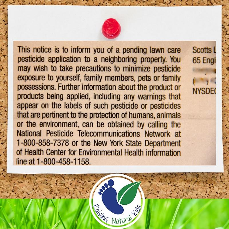 Pesticide Notice