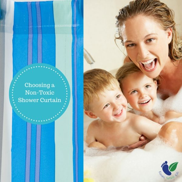 Shower Curtains are vinyl shower curtains safe : Choosing a Non-Toxic Shower Curtain - Raising Natural Kids